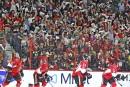 La foule a été présente tout au long du match.... | 29 avril 2017