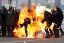 Heurts à Paris lors des manifestations du 1er mai