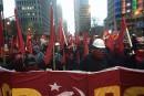 Manifestations du 1<sup>er</sup>mai à Montréal