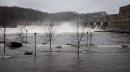 Le niveau de l'eau est très élevé au barrage La... | 1 mai 2017