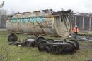 Déraillementau centre-ville: la voie ferrée a été libérée