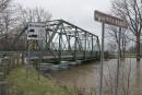 Le niveau de la rivière Maskinongé se rapproche du pont... | 2 mai 2017