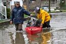 Inondations:60mm de pluie prévue ce week-end