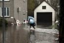 Les niveaux d'eau toujours en hausse à Gatineau