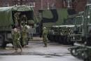 L'armée se prépare pour venir en aide aux sinistrés, en... | 6 mai 2017