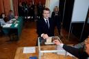 Emmanuel Macron élu président de la France
