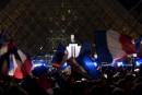 Emmanuel Macron a livré son discours de victoire devant le... | 7 mai 2017