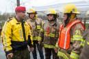 Même des policiers militaires de Valcartier sont venus prêter main-forte... | 7 mai 2017