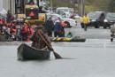 Des rues submergées commencent à s'affaisser à Gatineau