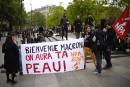 «Macron démission! un jour ça suffit», scande le Front social