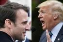 Emmanuel Macron et Donald Trump se rencontreront le 25mai