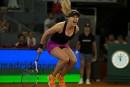 Eugenie Bouchard l'emporte contre Maria Sharapova