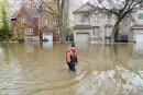 Le retrait des eaux prendra des semaines, prévient Couillard