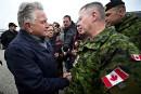Rigaud reçoit la visite du chef d'état-major de la défense