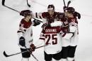 La Lettonie toujours en tête de son groupe au Mondial