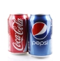 AYTOS, BULGARIA - AUGUST 11, 2015: Coca-Cola isolated on white b
