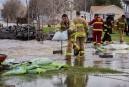 Des pompiers de Québec combattent le fleuve en Mauricie