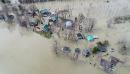 La période des inondations s'étire dans la région. Des gens... | 10 mai 2017