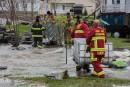 La municipalité de Batiscan a demandé l'aide des pompiers de... | 10 mai 2017
