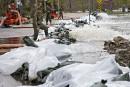 Inondations: 312 personnes de plus ont été évacuées mercredi