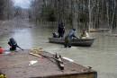 Les villes riverainesse préparent à la crue du fleuve