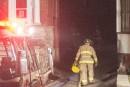 Le feu dans un logement au-dessus d'un CPE est d'origine accidentelle