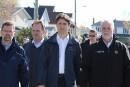 Zones inondables: une réflexion s'impose, disent Trudeau et Couillard