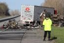 Ontario: quatre morts et deux blessés dans un carambolage sur l'A401