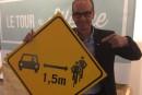 Dépassement des cyclistes: Louis Garneau veut plus de panneaux