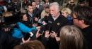 Le premier ministre Philippe Couillard a répondu aux questions des... | 11 mai 2017