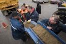 Inondations: cols blancs et bleus de Québec à la rescousse