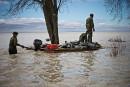 Inondations: accalmie salvatrice àYamachiche