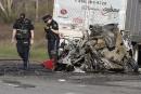 Un camionneur québécois accusé après un carambolage mortel