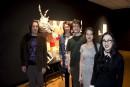 Les étudiants en arts plastiques du Collège Shawinigan ont procédé... | 12 mai 2017