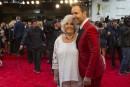 Éric Salvail et sa mère Colette sur le tapis rouge....   14 mai 2017