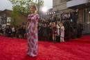 Julie LeBreton sur le tapis rouge...   14 mai 2017