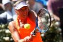Maria Sharapova connaît un lent départ à Rome