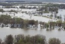 Inondations: entre joie et prudence