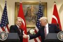 Trump et Erdogan se promettent leur amitié
