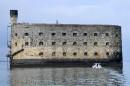 Le Fort Boyard, au large de La Rochelle, en France... | 17 mai 2017