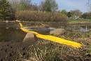 Limoilou: nappe d'hydrocarbures dans la rivière Lairet<strong></strong>