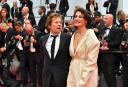 La chanteuse et actrice Jeanne Balibar et le réalisateur Mathieu... | 18 mai 2017