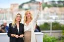 Les actrices Elodie Bouchez et Sandrine Kiberlain, respectivement membre et... | 18 mai 2017