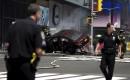 La police de New York sécurise le périmètre établi autour... | 18 mai 2017