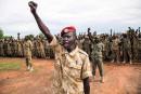 Des soldats de l'Armée populaire de libération du Soudan (APLS)... | 18 mai 2017
