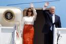 Fragilisé, Trump quitte l'Amérique pour un voyage périlleux