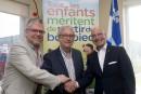 Centre de pédiatrie sociale:Québec verse 155 660 $