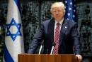 Trump en Israël voit «une rare opporunité» pour la paix