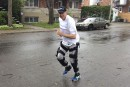 Robocop au 10K d'Ottawa