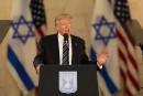 Trump appelle Israéliens et Palestiniens à des «décisions difficiles»
